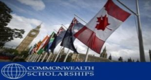 Commonwealth Scholarship to study in canada and australia