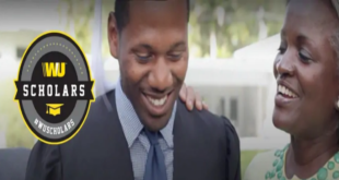 2018/2019 Western Union undergraduate scholarship apply