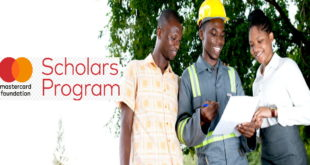 MasterCard Foundation Scholarships for African Students