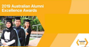 Australian Alumni Excellence Scholarships for International Student, 2019