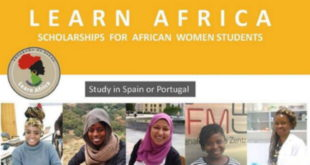 2019 Fully Funded Learn Africa Scholarships in Spain & Portugal for female students