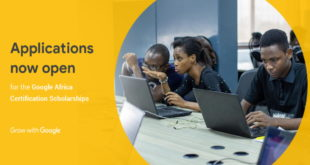 Apply for the 2019 Ongoing Google Africa Certification Scholarship Programme