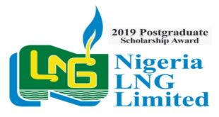 Nigeria LNG Limited 2019/2020 Postgraduate Scholarship Scheme in UK