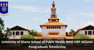 University of Ghana 2019/2020 Postgraduate Scholarships for African Students | Apply Now