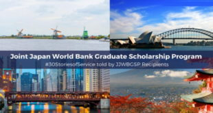 World Bank-Japan Postgraduate Scholarships Scheme 2019