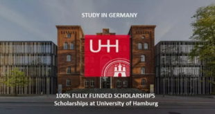 2019 University Of Hamburg Undergraduate Scholarships Program in Germany - Apply