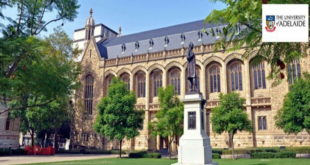 Fully Funded University of Adelaide International Scholarships Award 2021