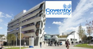 International Country Award 2019 at Coventry University in UK 2019