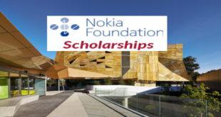 Apply for Nokia Foundation 2019 International Scholarships