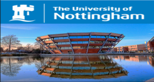 International Students Scholarship at University of Nottingham, 2018/2019
