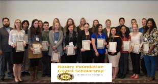 Rotary Foundation 2019 International Scholarship Awards for Development