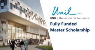 UNIL Postgraduate Study Grants for International Students in Switzerland
