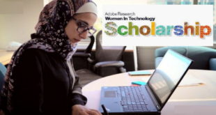 2020 Adobe Research Women-in-Technology ($USD10,000) Scholarship Awards Scheme