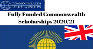 Commonwealth Masters Scholarships 2020 for Low Income Country Students to Study in UK