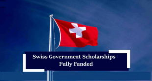 Fully Funded Swiss Government Global Excellence Awards 2020