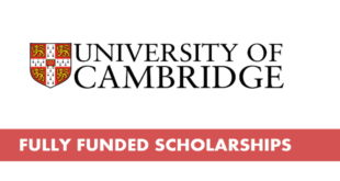 International Postgraduate Students Scholarships at University of Cambridge 2019-2020 - Cambridge International Scholarships