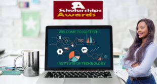Koftech Scholarships Award for Africans to Study in South Africa