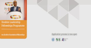 Mo Ibrahim Foundation – AfDB Collaboration Leadership Fellowship Program 2019-2020