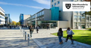 Northumbria Global Excellence Scholarship Program in UK 2019-2020