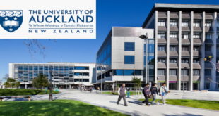 University of Auckland International Master of Health Studies Funding Scholarships ($15000 award)