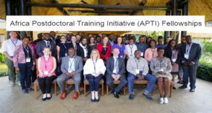 APTI Postdoctoral Training Opportunity for African Young Professionals