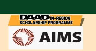 DAAD Sub-Saharan African Regional PhD Scholarship Award Program 2019-2020