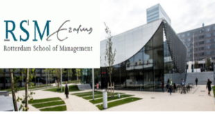 Erasmus University Management Scholarships 2021 for non-EEA Students (Funded)