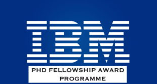 IBM Postgraduate Student Fellowship Awards Program 2020