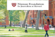 International Nieman Fellowship Harvard University