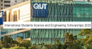 International Students Science and Engineering Scholarships 2020 at QUT, Australia