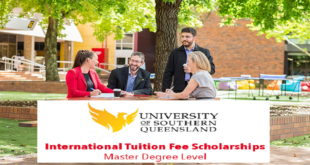 International Students Tuition Award Scholarships 2020 at USQ, Australia