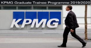 KPMG Graduate Trainee Programme 2019-2020 for Recent Graduates.