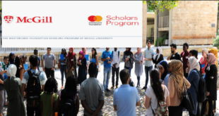 MasterCard Foundation Scholars Program 2020 (Full Scholarship at McGill University)