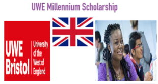 University of West England Millenium Scholarship 2020 (Open to International Students)