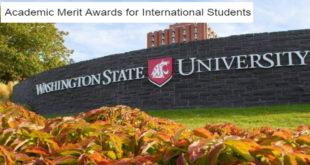 Academic Merit Awards for International Students at Washington State University, USA