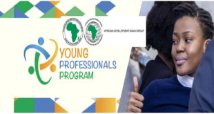 AfDB Young Professionals Program (YPP) 2020 for Young African Graduates