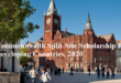 Commonwealth Split-Site Scholarship for Developing Countries