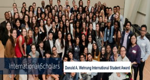 Donald A. Wehrung Award 2020-2021 for International Student to study at UBC, Canada