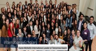Fully-Funded 2020-2021UBC Karen McKellin International Leader of Tomorrow Award in Canada