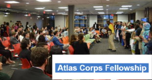 Fully-Funded Atlas Corps Fellowship 2020 for Young Graduates to the United States