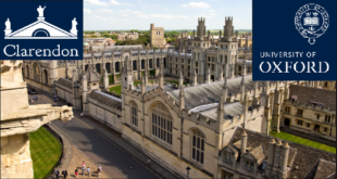 Clarendon Fund Scholarship at the University of Oxford