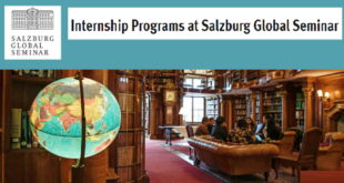 Global Internship Programs for Young Professionals 2020 at Salzburg Global Seminar