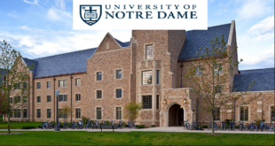 International Students Award at the University of Notre Dame