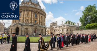 Jacobs Foundation Scholarship at University of Oxford for International Students