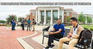 Merit-Based International Student Scholarships at University of Alabama, USA