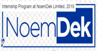NoemDek Oil & Gas Internship Program 2019 for Young Graduates