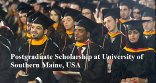 Postgraduate Scholarship at University of Southern Maine