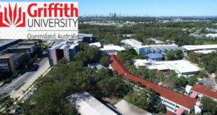Pro VC Scholarship Award 2020 for International Students at Griffith University, Australia