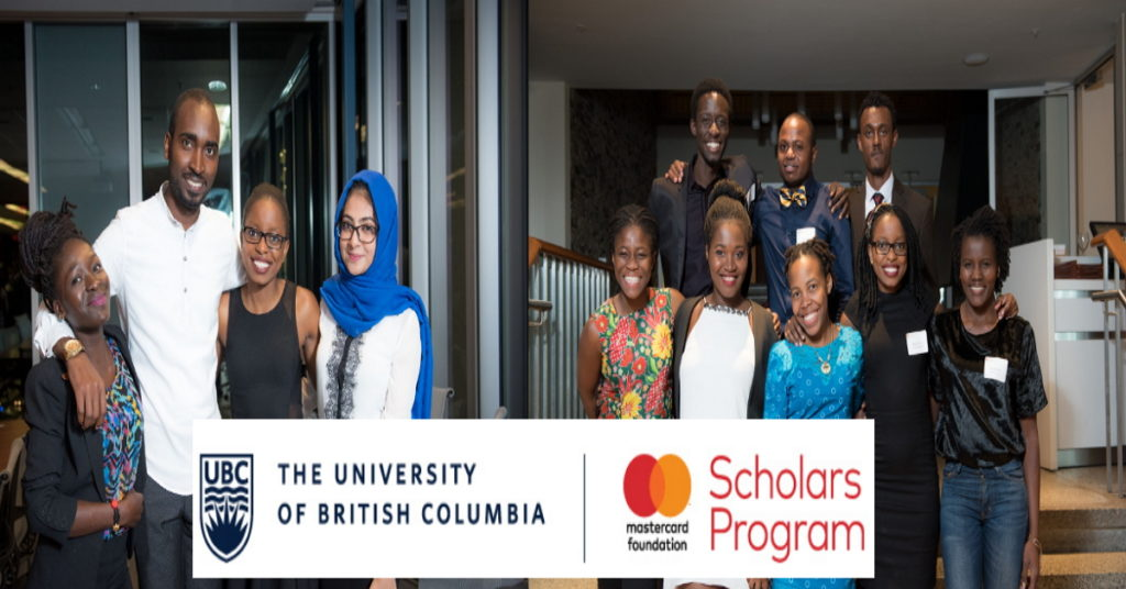 Fully-Funded UBC Mastercard Foundation Scholars Program to ...