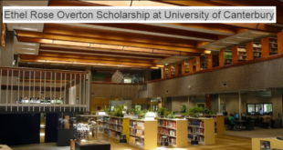 UC Ethel Rose Overton Scholarship for Undergraduate and Postgraduate Studies in Canada (up to $30,000 funding)